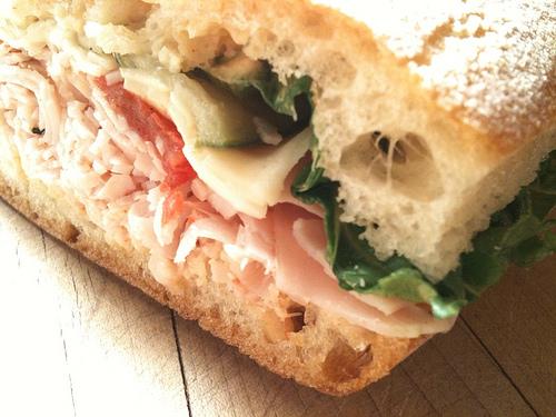 LA Bento - Turkey Havarti Sandwich