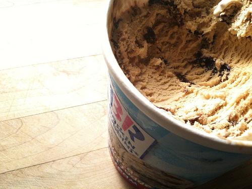 Jamoca Almond Fudge Baskin Robbins