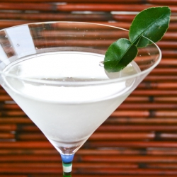 Siam Sapphire Gin Martini