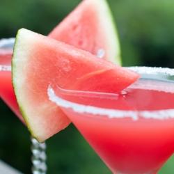 Watermelon Martinis