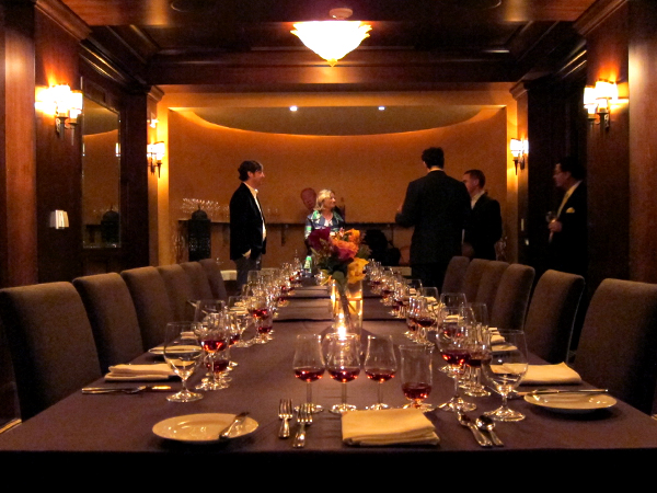 Scarpetta: private dining room
