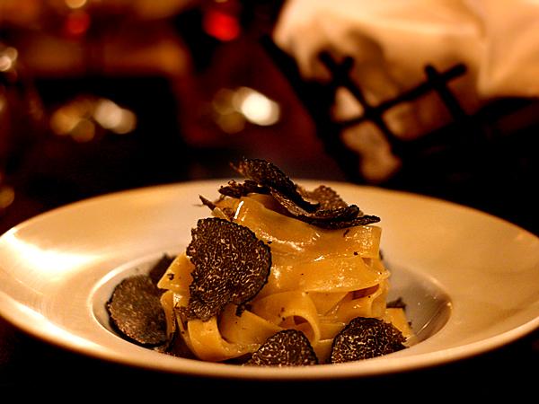 Scarpetta: Tagliatelle with Truffles