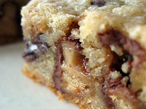 Blonde brownie cake mix recipe