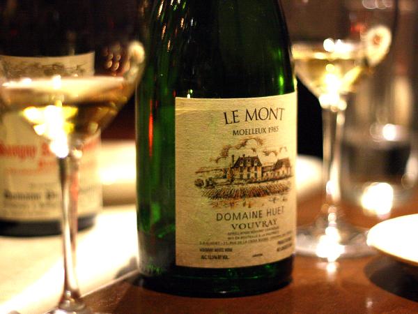 Huet Vouvray Le Mont Moelleux 1985