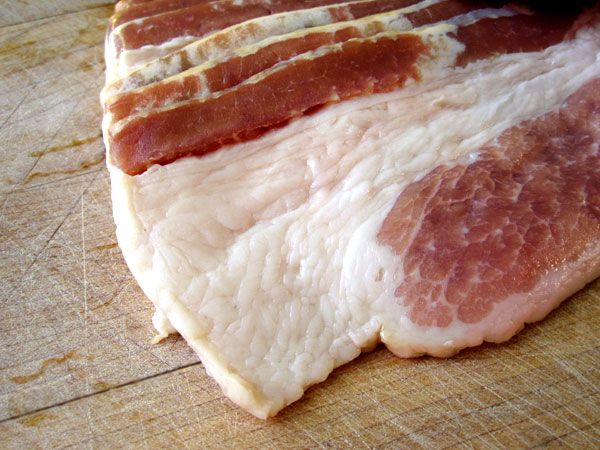 Bacon, Raw - The delicious daily