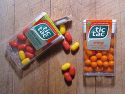 Cherry Passion Orange Tic Tacs