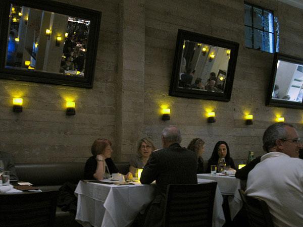 Fraiche Restaurant, Santa Monica - Front Dining Room