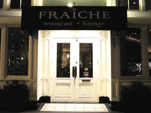 Fraiche Restaurant, Santa Monica - Front Door
