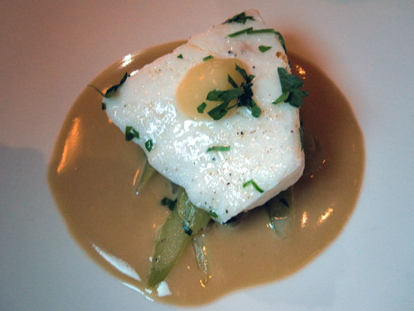 Fraiche Restaurant, Santa Monica - John Dory Clam Jus