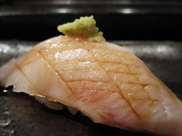 Kiyokawa, Sushi Omakase - Hamachi Belly