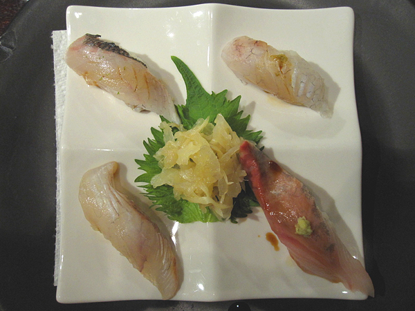 Kiyokawa, Sushi Omakase, Course 01