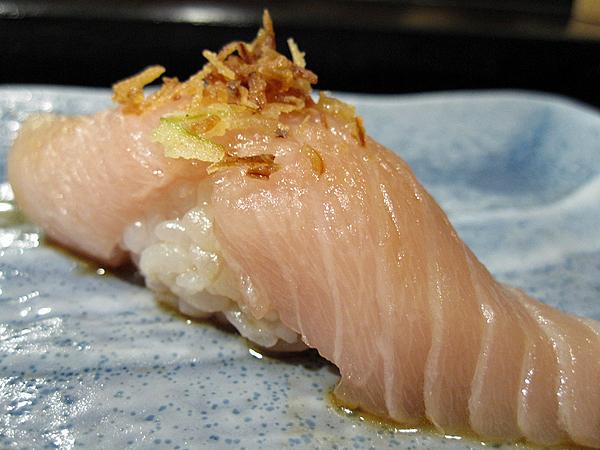 Kiyokawa, Sushi Omakase - Albacore Belly