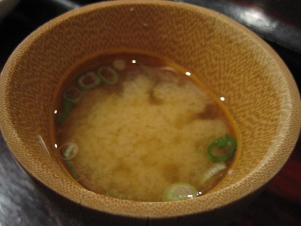 Kiyokawa, Sushi Omakase, Miso Soup