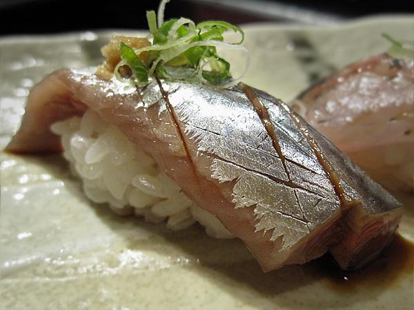 Kiyokawa, Sushi Omakase - Pike Mackerel