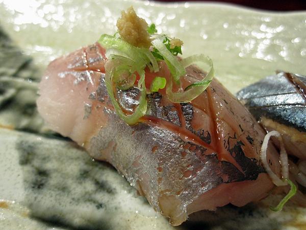 Kiyokawa, Sushi Omakase - Spanish Mackerel