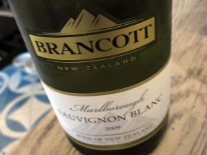 Delphine at W Hotel Hollywood - Sauvignon Blanc Bottle