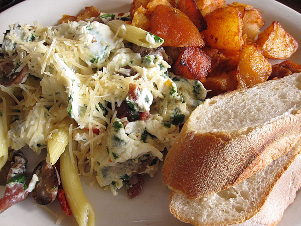 Coral Tree Cafe, Brentwood - Eggs Marcella Plate