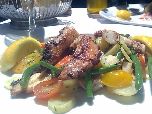Sor Tino Restaurant, Brentwood - Octopus with Potatoes and Green Beans
