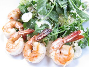 BOA Steakhouse, West Hollywood - Shrimp Salad