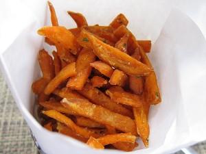 BOA Steakhouse, West Hollywood - Sweet Potato Fries