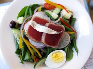 Delphine, W Hotel, Hollywood, - Nicoise Salad