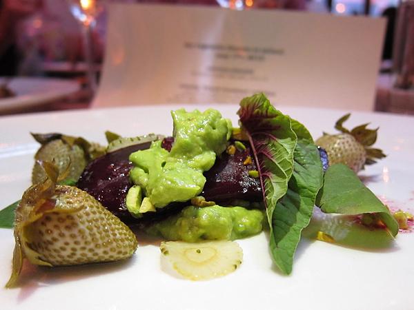 Roasted Beet, Vegetable Dinner at Animal