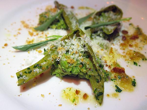 Roasted Favas Vegetable Dinner at Animal