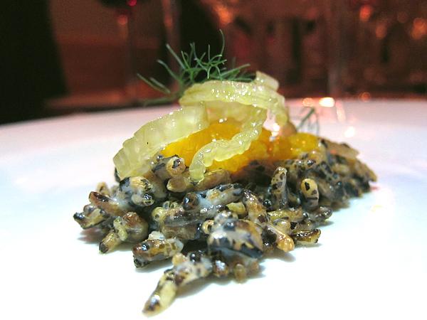 Wild Rice Krispies, Vegetable Dinner at Animal Restaurant