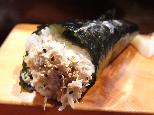 Kiriko - Crab Handroll