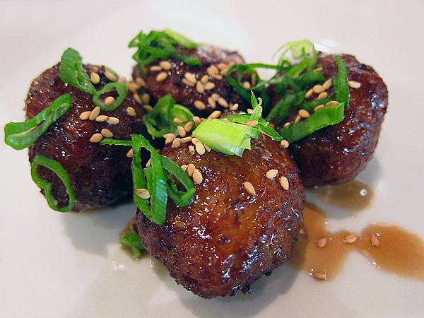 Korean Fusion Food - Chicken Meatballs