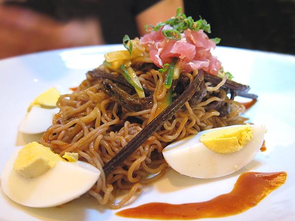 Korean Fusion Food - Buckwheat Noodles, Naeng Myun