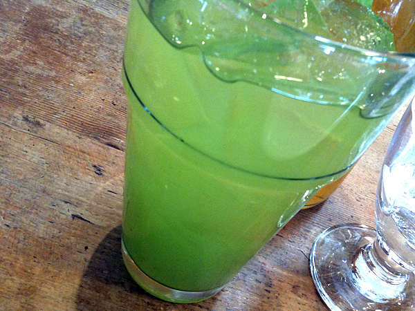 M Cafe de Chaya - Mint Green Tea