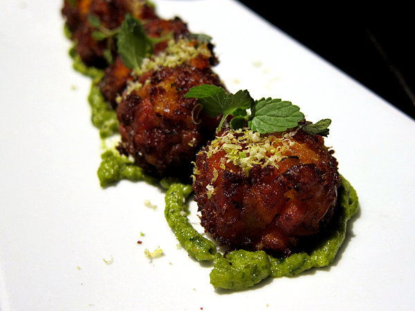 Bazaar by Jose Andres SLS Hotel - Carrot Fritters