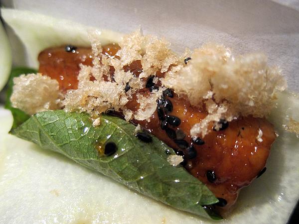 Bazaar by Jose Andres SLS Hotel - Japanese Eel Taco