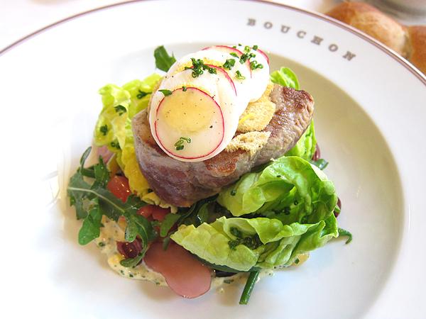 bouchon beverly hills - nicoise salad