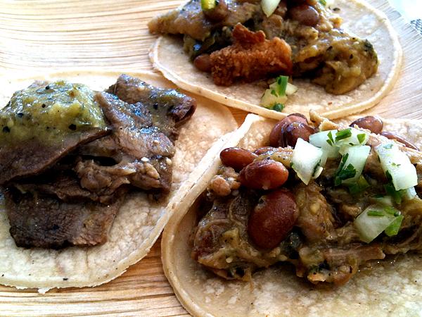 FIG at Fairmont - Street Tacos Trio