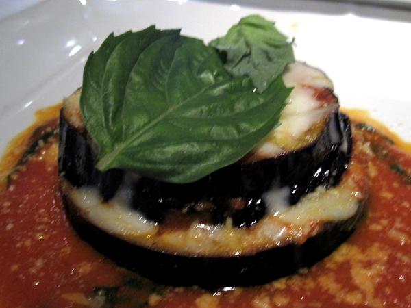 Il Sole Eggplant Parmesan