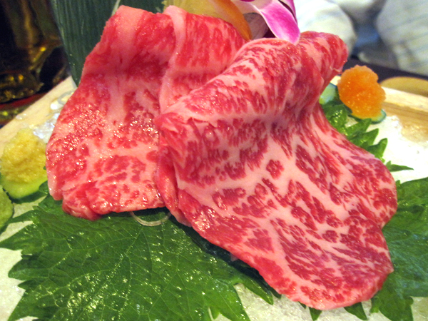 Kanpai Sushi - Wagyu Beef Sashimi