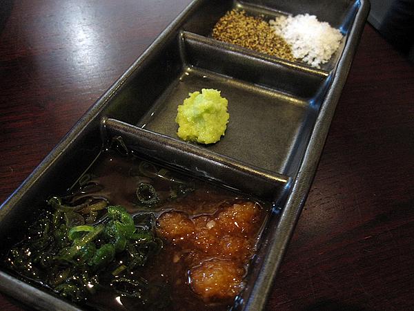 Kanpai Sushi - Sauces