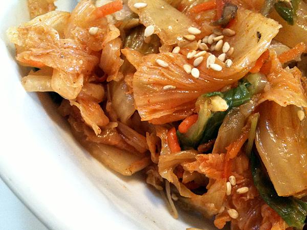 M Cafe de Chaya - Kimchee on Bibimbahp