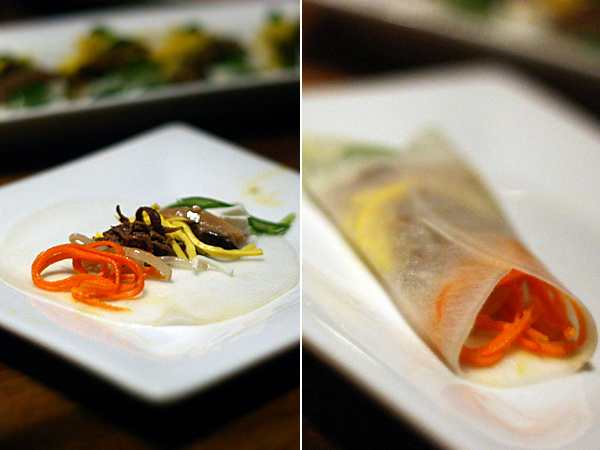 LaOn Dining {korean} - seven wrap