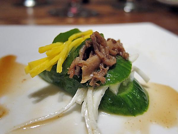 LaOn Dining {korean} - cucumber bulgogi