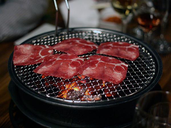 LaOn Dining {korean} - Korean BBQ beef tongue