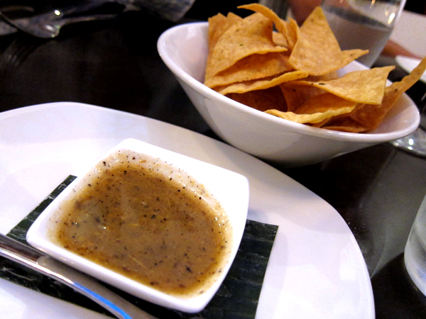 Red O Restaurant by Rick Bayless - Tortilla Chips and Salsa