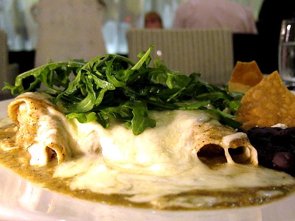 Red O Restaurant by Rick Bayless - Enchiladas
