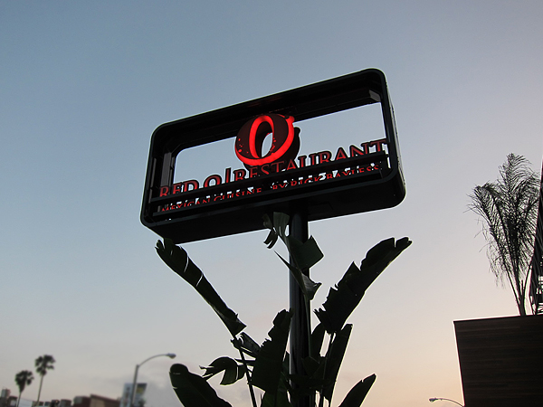 Red O Restaurant by Rick Bayless - sign