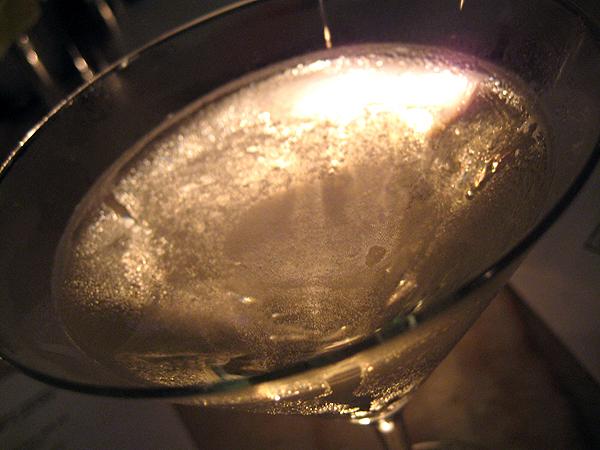 Bond St Restaurant, Thompson Hotel, Beverly Hills - Martini
