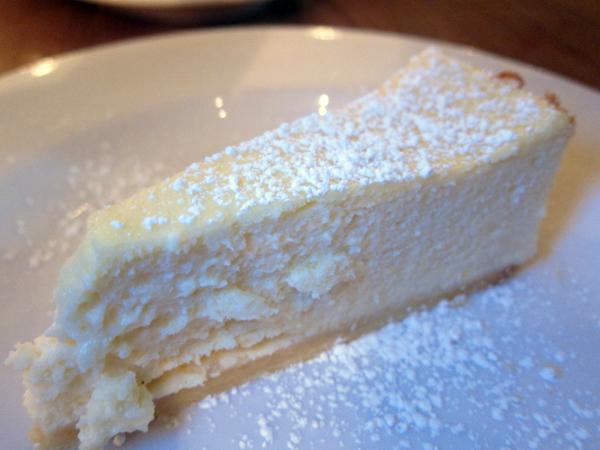 Frankies Spuntino at Animal - Ricotta Cheesecake