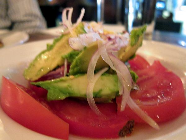 Frankies Spuntino at Animal - Tomato Avocado Salad