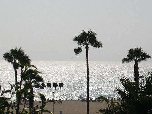 The Lobster, Santa Monica Pier - View of Ocean